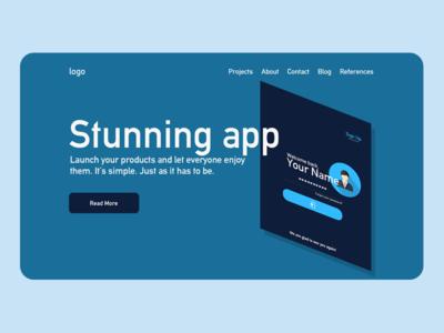 App Website Design