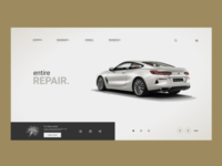 mobile application that helps the owner of the car with repair