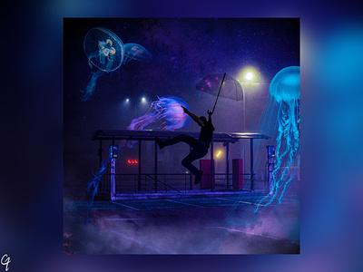 Album art design shot photoshop abstract album art