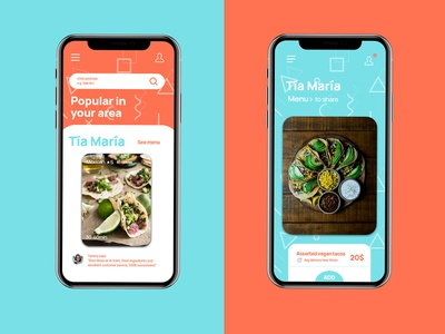 Food delivery app concept photoshop uidesignpatterns uidesign uxui mobile interfacedesign design app ui adobexd