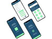 Doctor appointment booking app concept