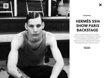 Paris Backstage B&W  layout paris fashion photography post blog black and white