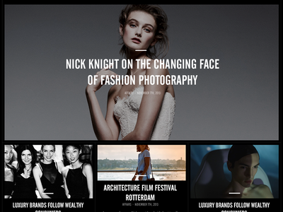 Fashionable Grid fashion grid layout articles photography