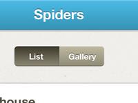 Spider List