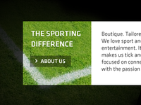 Sporting difference