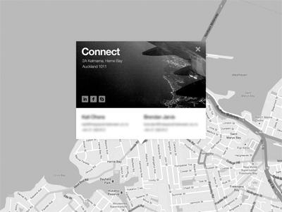 Contact contact map grey