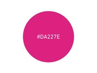 Razzle #DA227E pink