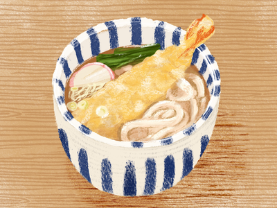 Never ending love for udon