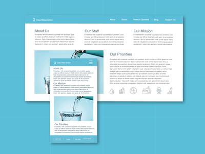 Clean Water Page Website 2