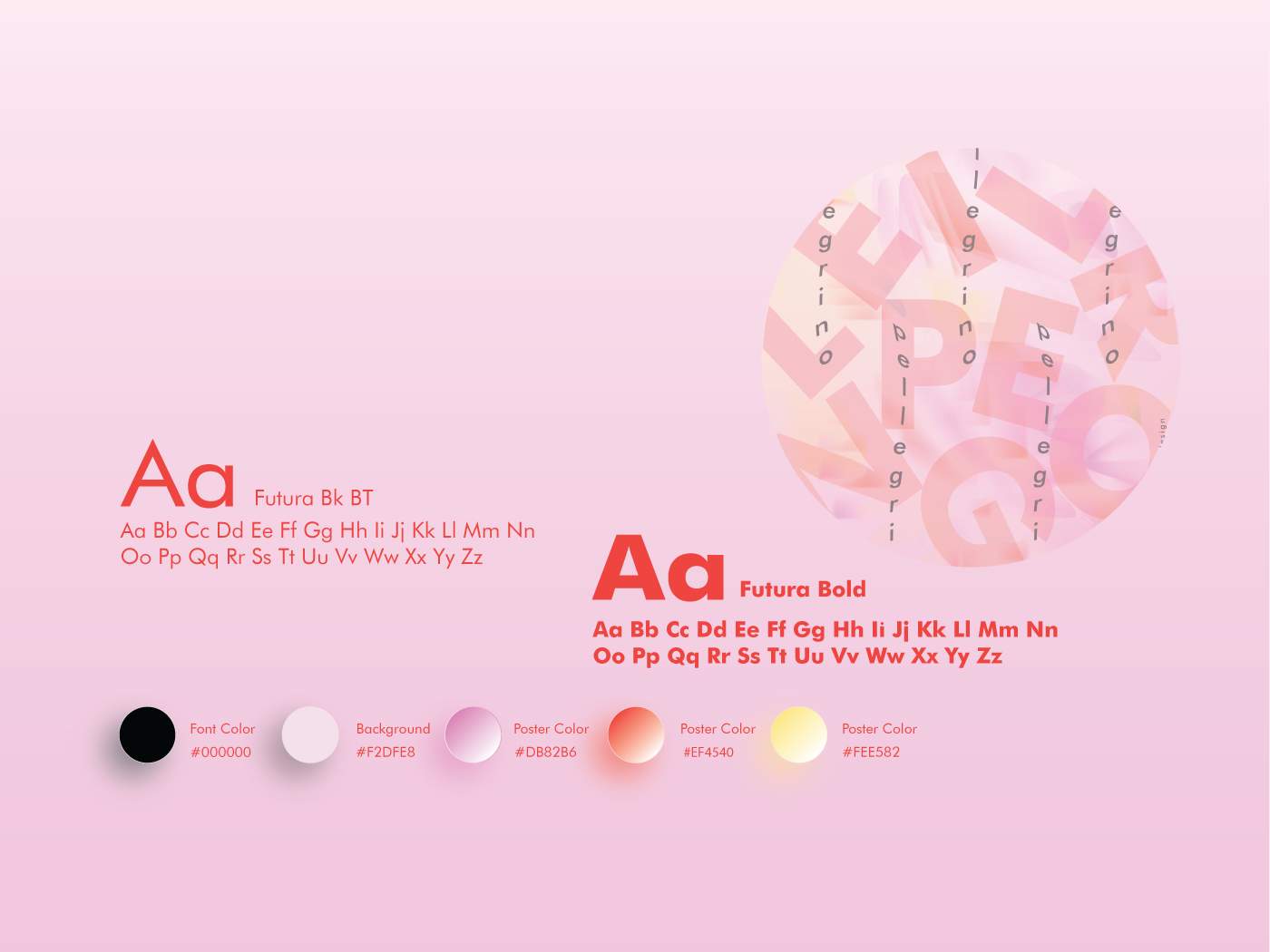 Alphabet Poster Assets Page