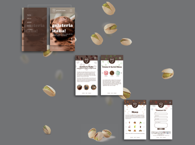 Gelateria Italia Mobile Web