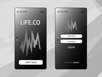 Live.co - UI Design