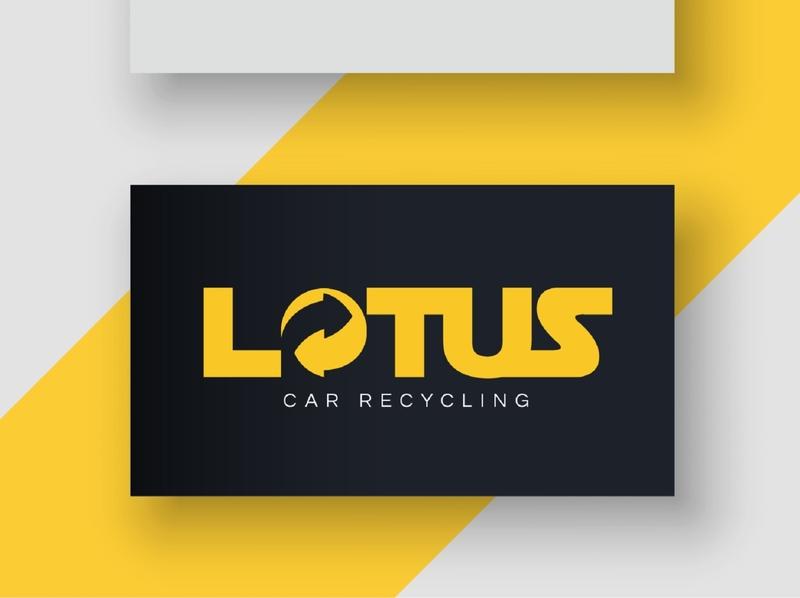 Car Recycling Logo