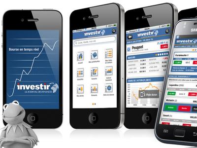 App Investir - Groupe les Echos