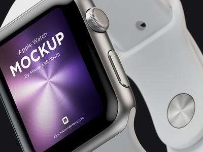 Apple Watch photoshop apple watch mockup cinema4d vray 3d