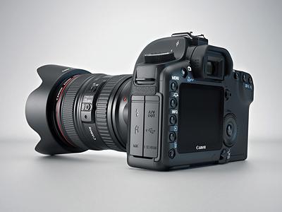 3d Canon 5d camera canon 5d canon 3d cinema 4d vray camera render usb metal