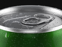 3d beer can