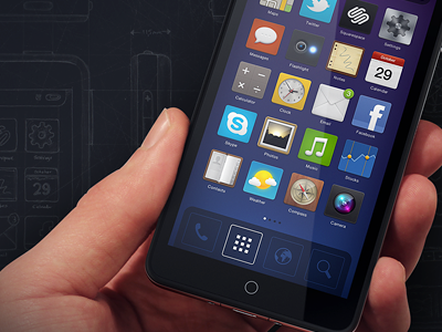 Phone Ui, Icons and Composition Workflow guide phone 3d ui os sketch tutorial making of icon comp render hand blueprint squarespace glossy music globe weather twitter wood glyph camera search icons glyphs settings message maps contacts compass metal