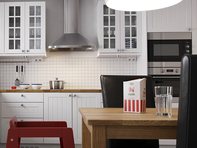 3d Kitchen (Vray exploration) kitchen 2008 3d vray exploration sleepless details owen table milk glass wood metal