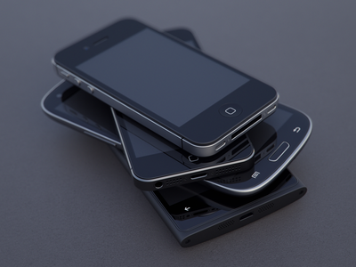Devices Group Hug (gif + high res) iphone apple samsung galaxy s3 nokia lumia 920 iphone4 iphone5 composition 3d