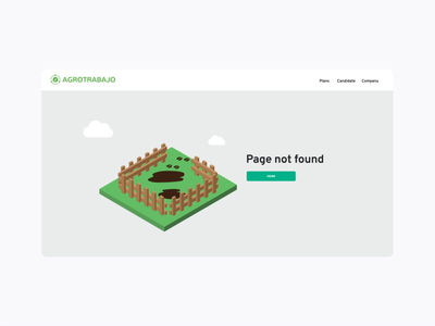 404 Agrotrabajo ux web development vector user experience ui ux ui isometric design identity custom branding 404 error 404