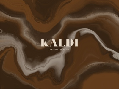 Kaldi - Specialty Coffee House logo design