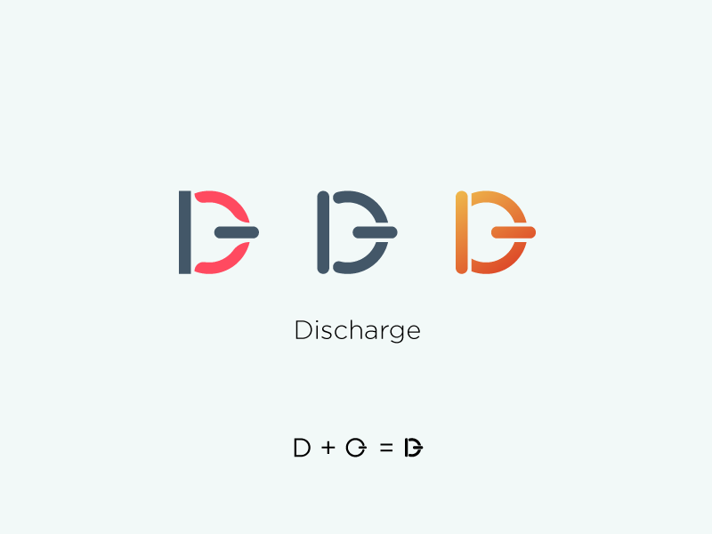 Discharge Logo logodesignidea graphicdesigner illustration uidesign simplecooldesign graphicdesign icon typography branding logodesign logo