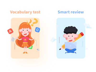 IP - Review and test kids illustration kids kid branding illustration ui design