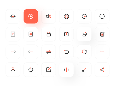 Line icon 1 2x vector app ux icons line icon ui