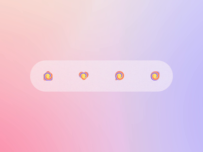 Lollipop Tabbar motion icon design