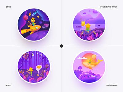State concentration - Gorgeous Hammer branding vector illustration design 设计