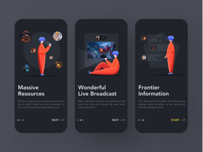 Game TV - Startup page