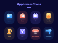 Appliances Icons