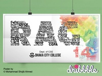 Typography Poster | Rag Day Poster