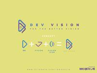 Dev Vision   Logo Design Concept