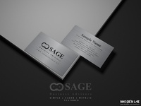 Sage Business Advisor | Business Card Design