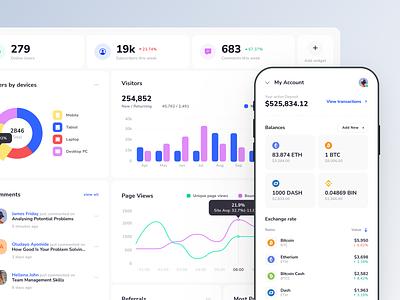 Xela Design System - Templates for Apps mobile app web app app template templates ui kit prototyping figma design system