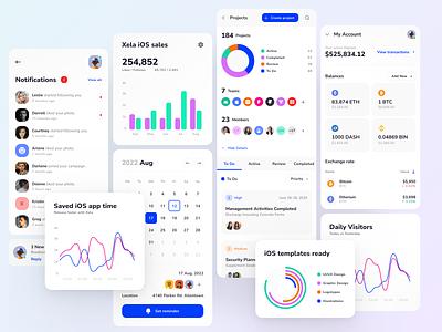 Xela Design System - Templates for SwiftUI ios app mobile app design kit swiftui template templates ui kit prototyping figma design system