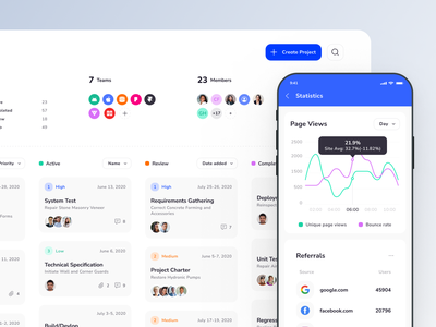 Xela Design System - Responsive templates for dashboards mobile dashboard dashboard swiftui template templates ui kit prototyping figma design system