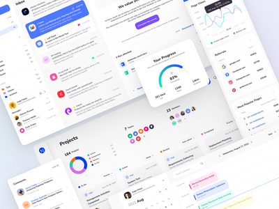Xela Design System - Responsive templates for Web & Mobile Apps jetpack compose app mobile design swiftui template templates ui kit figma prototyping design system
