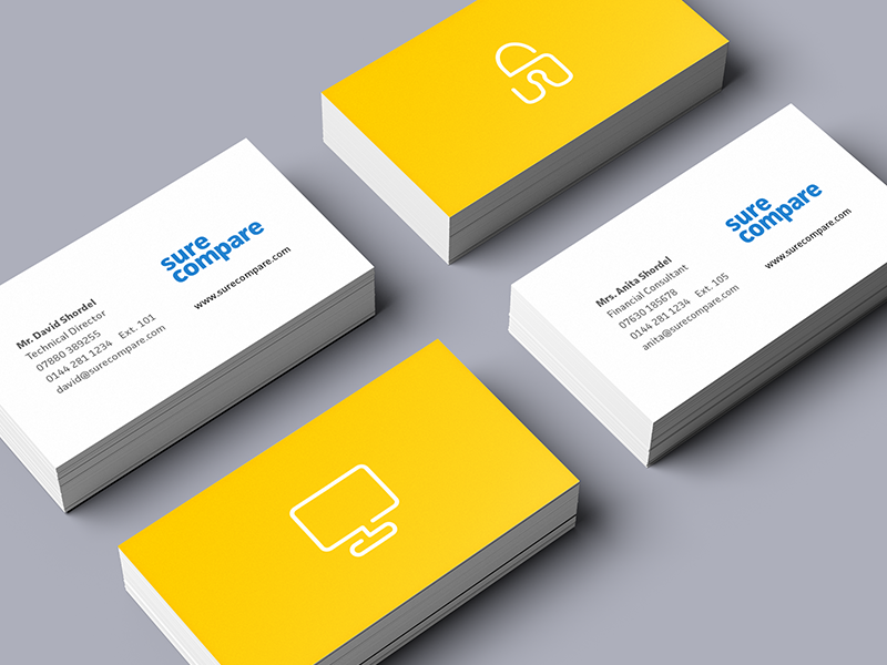 Continuous line icons business cards by matt cooper dribbble cards for dribbble colourmoves