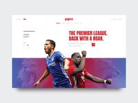 ESPN - Web Concept