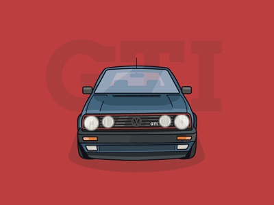 Dream Vehicles - No.1 - VW Golf Mk2 GTI