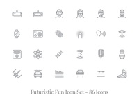 Explore The Future - Premium Icon Set