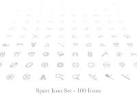 Sports Icon Set - Premium