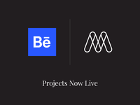 Behance Projects now live! :D