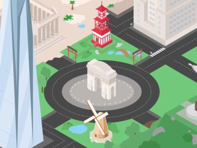 Isometric City - Update! :D