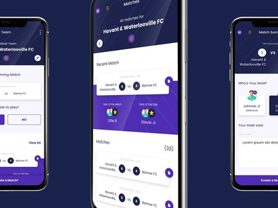 Lockeroom - UI/UX app mobile colour graphic create creation brand design ux ui