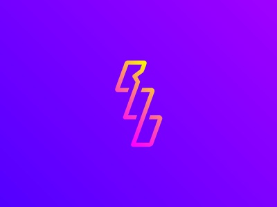 BooFit - Logo Concept fitness gym custom typography design graphic gradient colour creative identity brand logo