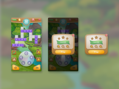 Mobile Game Interface Design